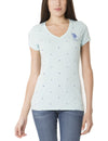 DOT & STAR PRINTED T-SHIRT - U.S. Polo Assn.