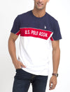 U.S. POLO ASSN. CHEST STRIPED T-SHIRT
