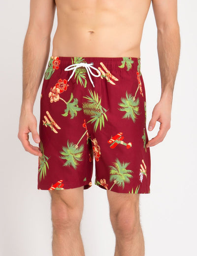 VACATION PLANE SWIM TRUNKS - U.S. Polo Assn.