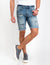 STRETCH SLIM DENIM SHORTS - U.S. Polo Assn.