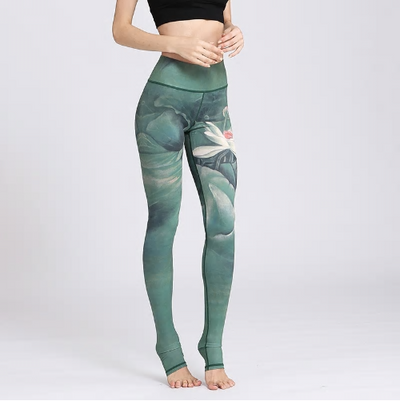 Sexy Floral Printed Yoga Pants For Women