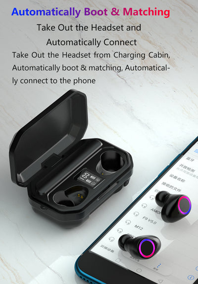 Wireless Headphones With Touch Control