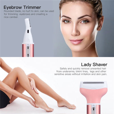 Electric Trimmer With Multi function For Women