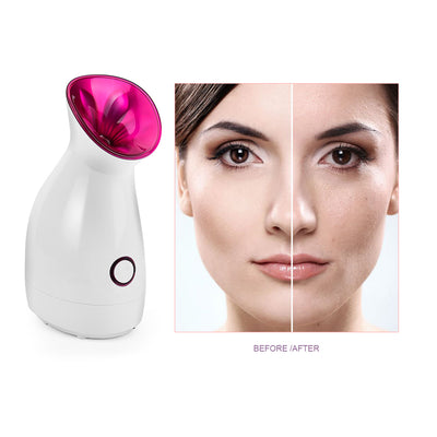 Hot Mist Sprayer Facial Steamer Nano Lonic
