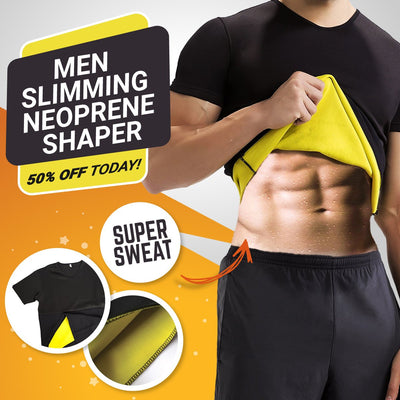 Men's Body Shaping Neoprene Sauna Shapers
