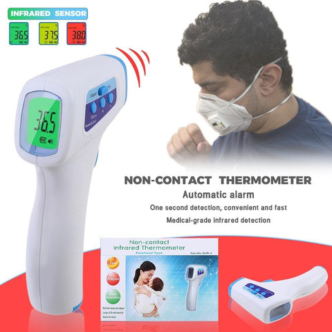 In Stock Touch Free Infrared Thermometer Digital For Baby Or Adults