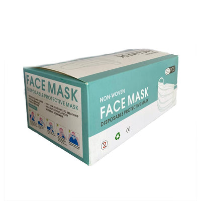 Superpharma Protective Face Mask Disposable Earloop Mask Pack 50 PCS