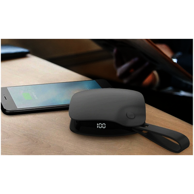 Handheld USB hand warmer and power bank