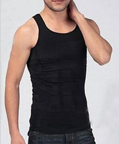 a810907cdd4 Men Slimming Lost Weight Vest Shirt - Corset Body Shaper Gym Clothing
