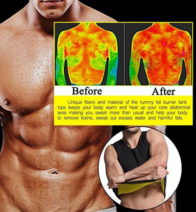 Men Sweat Workout Sauna Vest (FREE SHIPPING WORLDWIDE) - MOST BUY PACK OF 3 & SAVE 75%