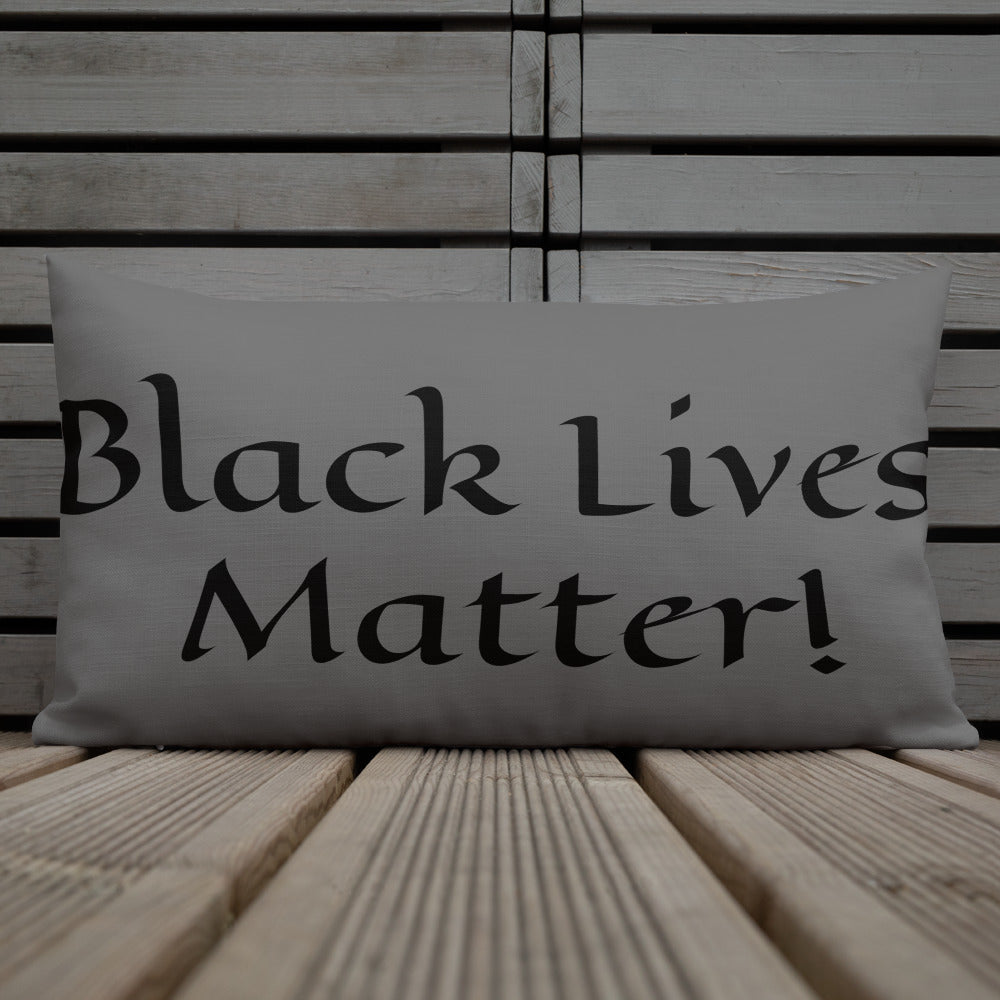 Black Lives Matter Premium Pillow