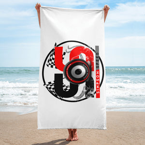 Simpson Speed Red Towel