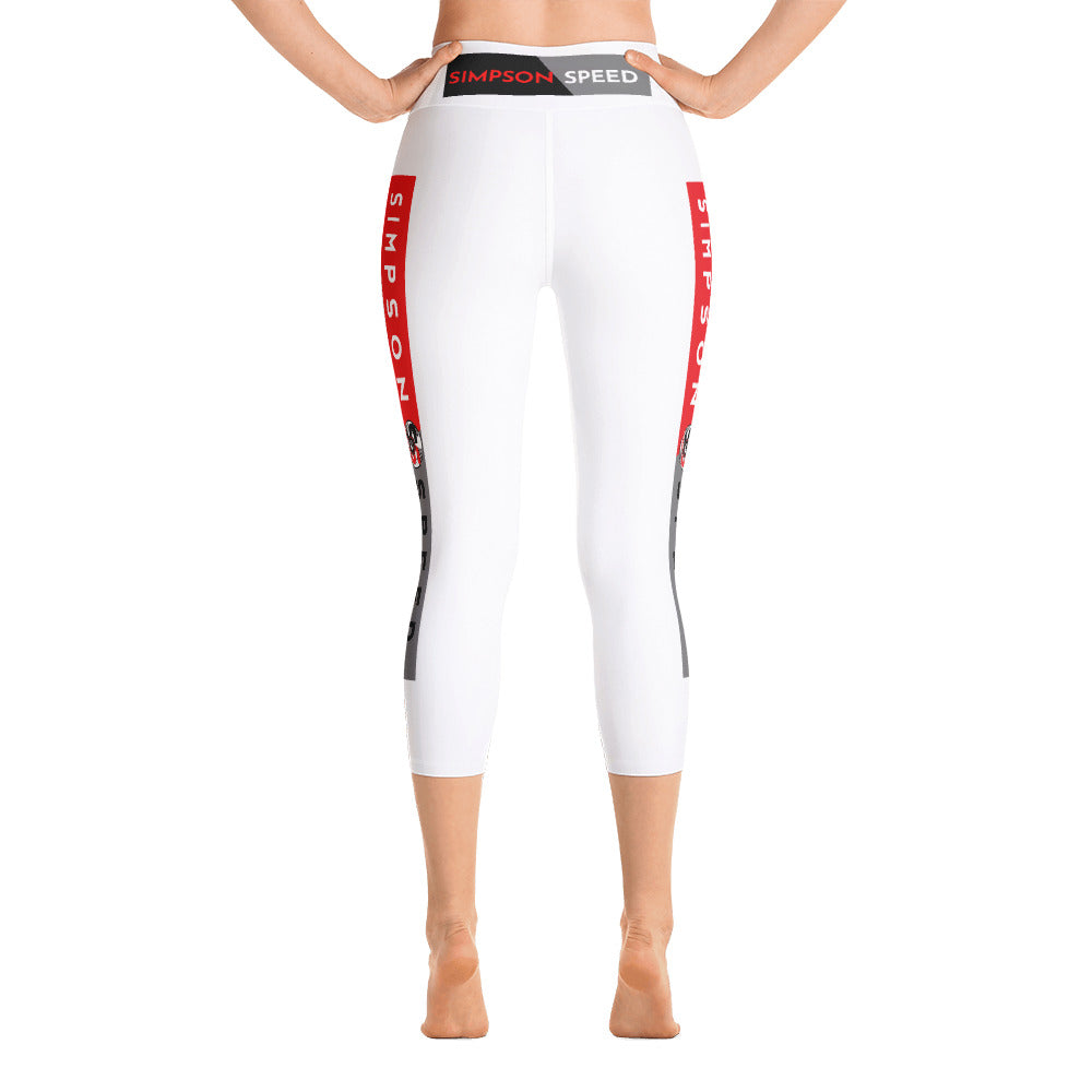 Simpson Speed Yoga Capri Leggings