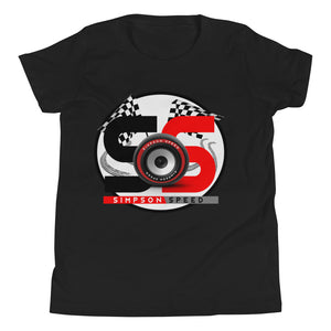 Simpson Speed Youth Short Sleeve T-Shirt