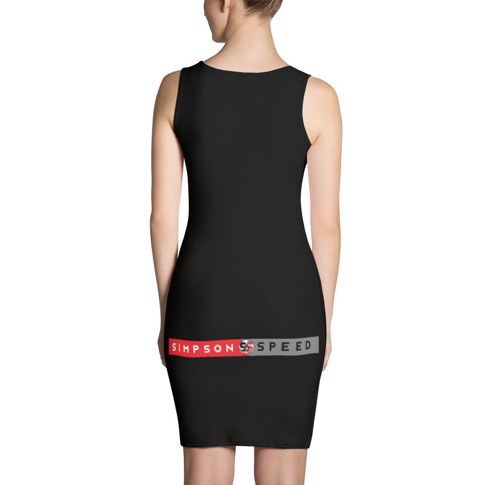 "Black ALL ""GAS"" Dress"