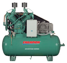 Horizontal Tank Mount Reciprocating Air Compressor