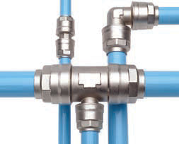 Champion / Infinity Quick-Lock Aluminum Piping