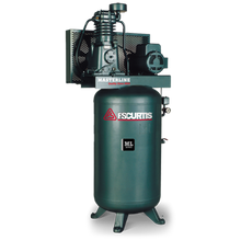 Vertical Tank Mounted Reciprocating Air Compressor