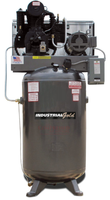 Industrial Gold - 5hp Reciprocating Air Compressor, 60 or 80 Gallon Vertical Air Receiver, 17.5 CFM @ 175 PSI, 6 Year Warranty Available
