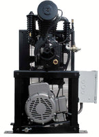 Industrial Gold - 7.5hp Reciprocating Cube Air System -Small Foot Print, 6 Year Warranty Available