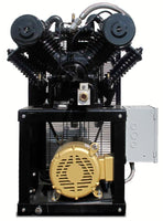 Industrial Gold - 7.5hp Reciprocating Cube Air System -Small Foot Print, 32 CFM - 28 CFM, 6 Year Warranty Available