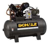 Schulz  V-Series - 7580HV30X-3 7.5-HP 80-Gallon Two-Stage Air Compressor (230V 3-Phase)