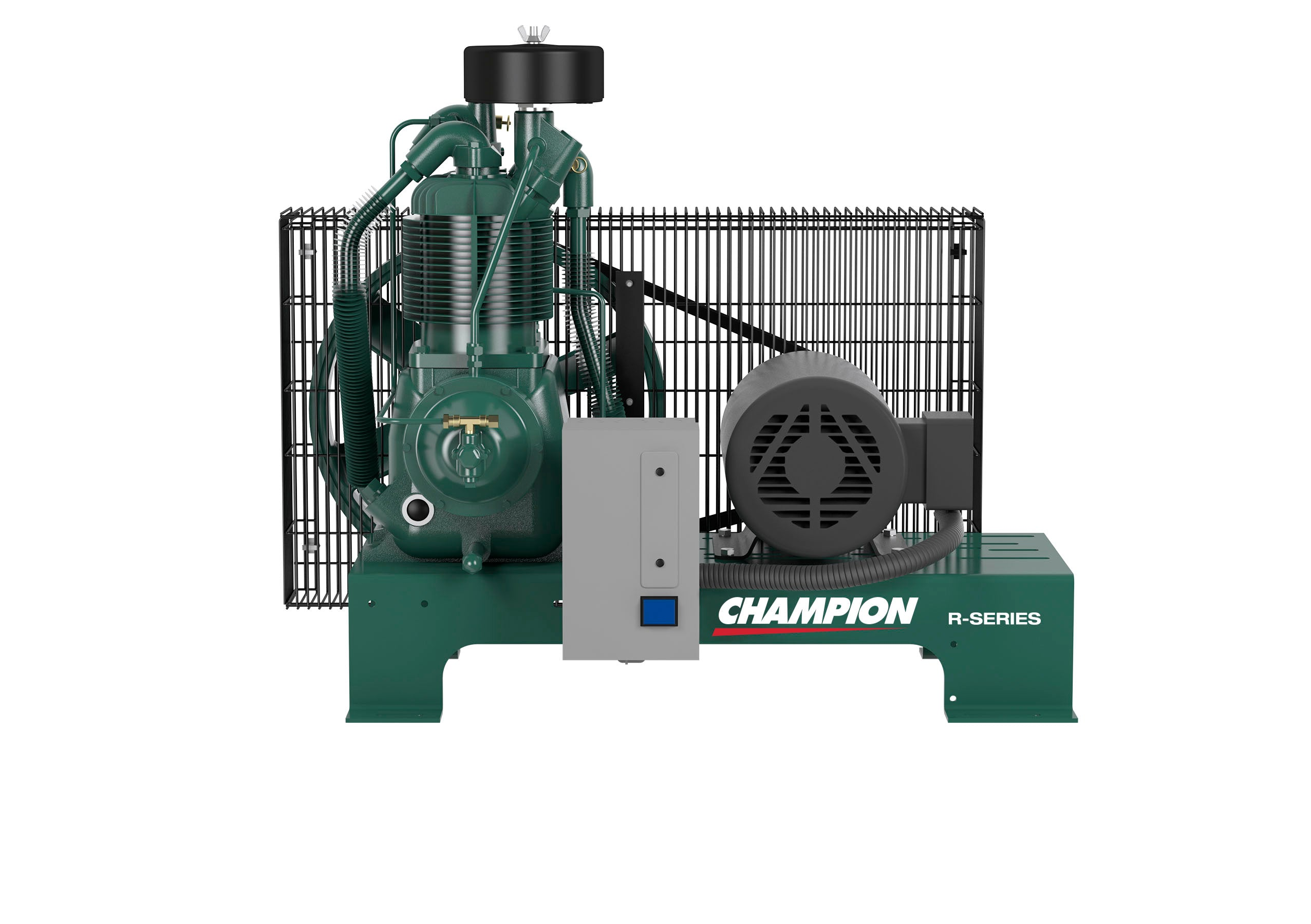 Champion BR3F - 3hp Reciprocating Air Compressor, Base Mount, Mounted –  Compressed Air Advisors