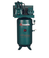 FS- Curtis CA5+ - 5hp Two Stage Reciprocating Air Compressor, 80 Gallon Vertical Air Receiver, E57 Pump, 18.5 CFM @ 175 PSI