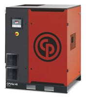 Chicago Pneumatic CPVSd 40 - 40hp Variable Speed Rotary Screw Air Compressor, Base Mount, 35-193 ACFM @ 100 PSI, 460V/3Ph