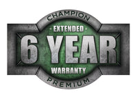 Champion R10-15 Warranty Kit, 6yr, Syn Oil