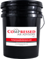 CAA-6043-68 - Atlas Copco Roto Z OEM Replacement Semi-Synthetic 6000 Hour Compressor Fluid - 5 Gallon