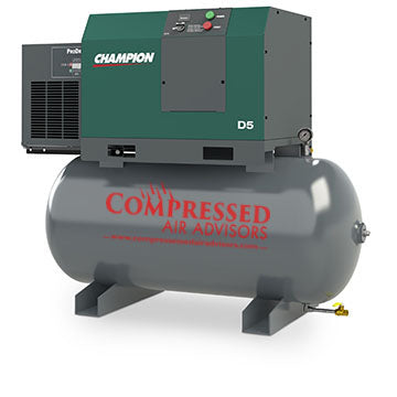 Air Dryer For Air Compressor >> Champion A5 Air Systems 5hp Rotary Screw Air Compressor 60 Gallon