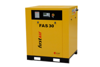 FirstAir FAS223 - 30hp Base Mounted Rotary Screw Air Compressor, 113 CFM @ 125 PSI, 460V/3Ph