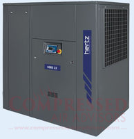 Hertz Kompressoren HBD 22 - 30hp Belt Driven Rotary Screw Air Compressor, 127 CFM @ 125 PSI, 10 Year Warranty Available