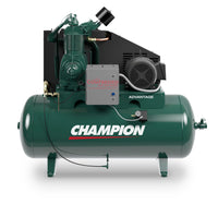 Champion Advantage HR15-12 - 15hp Reciprocating Air Compressor,  R40 Pump,  54.1 CFM @ 175 PSI