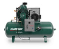 Champion HR7F-12 - 7.5hp, R Series, Two Stage Reciprocating Air Compressor, R15 Pump, 949 RPM, 120 Gallon Horizontal Air Receiver