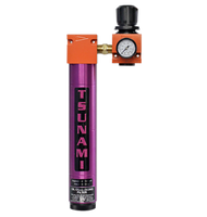 Tsunami - Air Filtration Package #7, oil coalescing filter with regulator (F/R - filter / regulator)