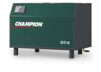 Champion D7.5 - 7.5hp Rotary Screw AIr Compressor, Base Mounted, 27 CFM @ 145 PSI
