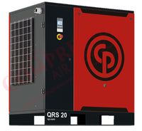 Chicago Pneumatic QRS 20 125 BM - 20hp Rotary Screw Air Compressor, Base Mounted, 82.2 CFM @ 125 PSIG, 208/230/460V/3Ph