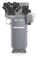 Champion VP-100-8 - 7.5hp Two Stage Reciprocating Air Compressor, 80 Gallon Air Receiver, 22.7 ACFM @ 125 PSIG