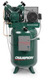 Champion Advantage VR10-12 - 10hp Reciprocating Air Compressor,120 Gallon Vertical Receiver, 33.8 CFM @ 175 PSI