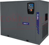 Hertz Kompressoren - HDD37 - 50hp Fixed Speed Direct Drive Rotary Screw Air Compressor,  230V/460V/3Ph, 10 Year Warranty Available