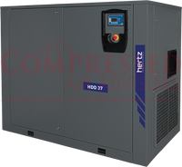 Hertz Kompressoren - HDD45 - 60hp Fixed Speed Direct Drive Rotary Screw Air Compressor,  460V/3Ph, 10 Year Warranty Available