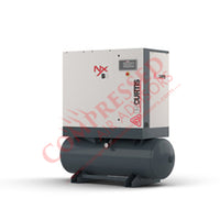 FS-Curtis NxB08 - 10hp Fixed Speed Rotary Screw Air Compressor, 80 Gallon Receiver Tank, 10 Year NxGen Warranty Available
