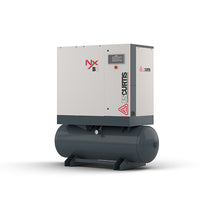 FS Curtis NxV08 - 10hp Variable Speed Air Rotary Screw Air Compressor, Tank  Mounted,  10 year Air End Warranty Available