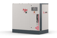 FS-Curtis NxB04 - 5hp Fixed Speed Rotary Screw Air Compressor,  Integrated Air Dryer, Base Mounted