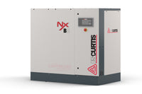 FS Curtis NxV08 - 10hp Variable Speed Air Rotary Screw Air Compressor, Base Mounted,  10 year Air End Warranty Available