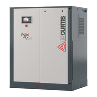 FS-Curtis NxB37 - 50hp Fixed Speed Rotary Screw Air Compressor, Integrated Air Dryer, Base Mounted