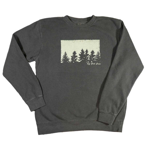 Image of Charcoal Tree Sweatshirt <BR>(Order One Size Down)