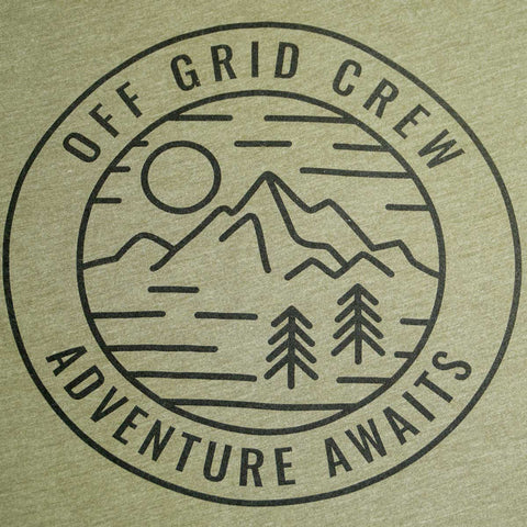 Image of Adventure Awaits Tee - Green